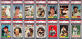 Baseball Cards:Sets, 1961 Topps Baseball High Grade Partial Set (542/587). ...