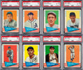 Baseball Cards:Sets, 1961 Fleer Baseball Greats Complete Set (154). ...