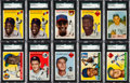 Baseball Cards:Lots, 1954-1956 Bowman and Topps Collection (470+). ...