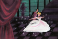 Animation Art:Concept Art, Mary Blair Cinderella Prince and Cinderella at the Ball Concept Painting (Walt Disney, 1950)....