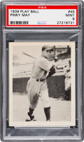 Baseball Cards:Singles (1930-1939), 1939 Play Ball Merrill May #45 PSA Mint 9 - Pop One, None Higher! ...