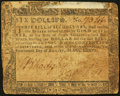 Colonial Notes:Maryland, Maryland August 14, 1776 $6 Fine.. ...