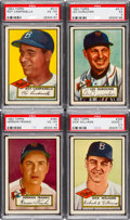 Baseball Cards:Lots, 1952 Topps Baseball High-Numbers Collection (34). ...