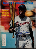 "Autographs:Others, Hank Aaron Signed ""Sports Illustrated"" Magazine - August 18th1969...."