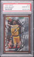 Basketball Cards:Singles (1980-Now), 1996 Finest Kobe Bryant (With Coating) #74 PSA Gem Mint 10....