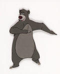 Animation Art:Production Cel, The Jungle Book Baloo Production Cel (Walt Disney, 1967)....