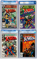 Modern Age (1980-Present):Superhero, X-Men CGC-Graded Group of 4 (Marvel, 1982) CGC NM/MT 9.8....(Total: 4 Comic Books)