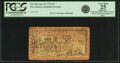 Colonial Notes:New Jersey, New Jersey April 23, 1761 6 Pounds Fr. NJ-147. PCGS Very F...