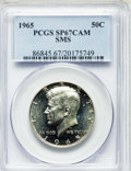 SMS Kennedy Half Dollars, 1965 50C SMS SP67 Cameo PCGS. PCGS Population: (183/6). NGC Census: (475/41)....