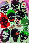 "Movie Posters:Action, Suicide Squad (Warner Brothers, 2016). One Sheets (3) (27"" X 40"").DS Advance Skull, Smile, & Mushroom Cloud Styles. Action....(Total: 3 Items)"