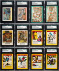 Non-Sport Cards:Sets, 1930's-1970's Non-Sports High-Grade Complete Set Quartet (4). ...