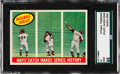 Baseball Cards:Singles (1950-1959), 1959 Topps Willie Mays' Catch Makes Series History #464 SGC 98 Gem 10 - The SGC Champion! ...
