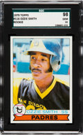 Baseball Cards:Singles (1970-Now), 1979 Topps Ozzie Smith #116 SGC 98 Gem 10 - Pop One, None Higher!...