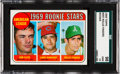 Baseball Cards:Singles (1960-1969), 1969 Topps Rollie Fingers - A.L. Rookie Stars #597 SGC 98 Gem 10-Pop One, None Higher! ...