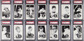 Baseball Cards:Sets, 1959 Home Run Derby Complete Set (20) - #6 on the PSA Set Registry....