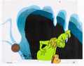 Animation Art:Production Cel, Doctor Seuss' How the Grinch Stole Christmas Grinch and MaxProduction Cel Setup (MGM, 1966)....