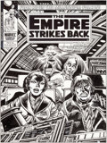 Original Comic Art:Covers, Carmine Infantino and Gene Day Star Wars: The Empire StrikesBack Weekly #125 Cover Original Art (Marvel UK, 1980)...