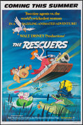 """Movie Posters:Animation, The Rescuers & Other Lot (Buena Vista, 1977). One Sheets (2) (27"""" X 41"""") Advance. Animation.. ... (Total: 2 Items)"""