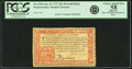 Colonial Notes:Pennsylvania, Pennsylvania April 10, 1777 40 Shillings Red and Black Fr. PA-223b.PCGS Choice About New 58 Apparent.. ...