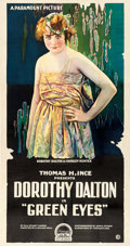 "Movie Posters:Drama, Green Eyes (Paramount, 1918). Three Sheet (42"" X 80"").. ..."