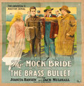"""Movie Posters:Serial, The Brass Bullet (Universal, 1917). Six Sheet (78"""" X 78.5"""") Episode5 -- """"The Mock Bride."""". ..."""