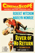 "Movie Posters:Western, River of No Return (20th Century Fox, 1954). One Sheet (27"" X41"").. ..."