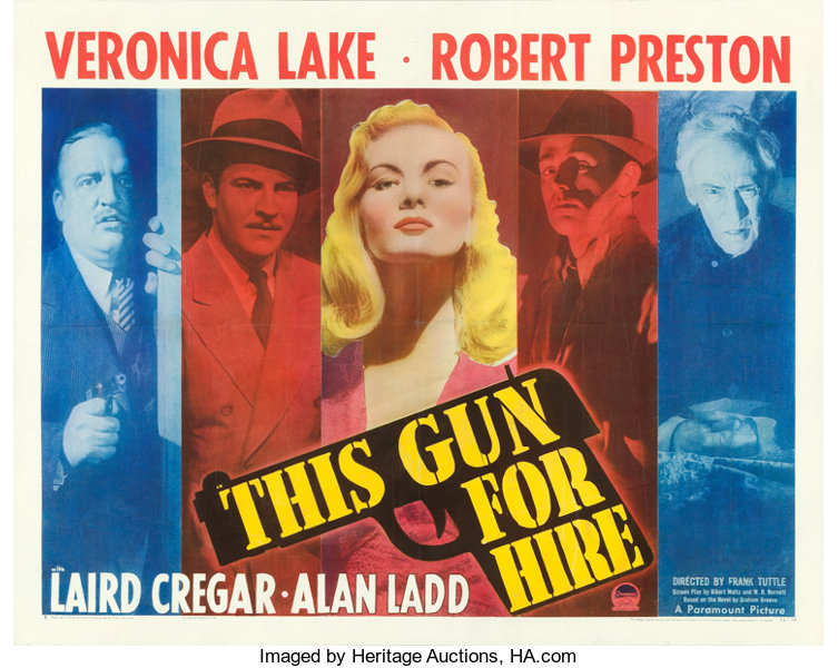 Image result for this gun for hire film