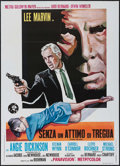 "Movie Posters:Crime, Point Blank (MGM, 1968). Italian 2 - Fogli (39"" X 55""). Crime.. ..."