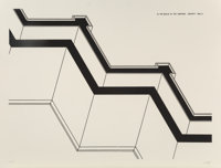 Robert Morris (b. 1931) Security Walls from In the Realm of the Carceral, 1978 Etching on paper 3