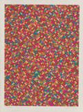 Prints:Contemporary, Tony Bechara (b. 1942). Roses, 1979. Screenprint in colorson paper. 26-1/4 x 19-1/4 inches (66.7 x ...