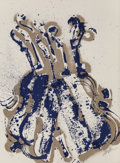 Fine Art - Work on Paper:Print, Arman (1928-2005). Yves Klein's Violins, 1979. Screenprint in colors. 30 x 22-1/4 inches (76.2 x 56.5 cm) (sheet). Ed. 7...