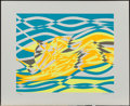 Fine Art - Work on Paper:Print, Stanley William Hayter (1901-1988). Untitled I, II, III, IV(from the Aquarius Suite, four works), 1970.Screenp... (Total: 4 Items)