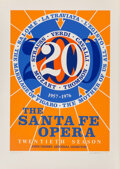 Prints:Contemporary, Robert Indiana (b. 1928)The Sante Fe Opera