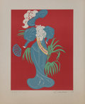 Fine Art - Work on Paper:Print, Robert Indiana (b. 1928). Lillian Russell, 1977. Lithograph in colors. 18 x 14 inches (45.7 x 35.6 cm) (image). 23-1/2 x...