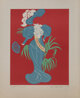 Robert Indiana (b. 1928) Lillian Russell, 1977 Lithograph in colors 18 x 14 inches (45.7 x 35.6 cm) (image) 23-1/2 x