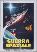 "Movie Posters:Science Fiction, The War in Space (Titanus, 1977). Italian 2 - Fogli (39"" X 55"").Science Fiction.. ..."
