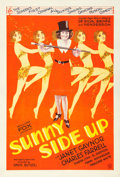 "Movie Posters:Comedy, Sunny Side Up (Fox, 1929). One Sheet (28"" X 41"").. ..."