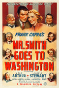 "Movie Posters:Drama, Mr. Smith Goes to Washington (Columbia, 1939). One Sheet (27"" X41"") Style A.. ..."