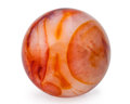Lapidary Art:Eggs and Spheres, Carnelian Agate Sphere. Madagascar. 3.00 inches (7.62 cm) indiameter. ...
