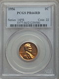 Proof Sets, 1956 1C PR66 Red PCGS. This lot will also include the following; 1956 5C PR67 PCGS, 1956 10C PR65 PCGS, 1956 25C PR68 ... (Total: 5 coins)
