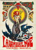 "Movie Posters:Horror, The Nude Vampire (Les Distributeurs Associés, 1970). French Grande(45"" X 62"") Philippe Druiliet Artwork.. ..."