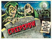 "Creepshow (Alpha, 1982). British Quad (30"" X 40"") Tom Chantrell Artwork"