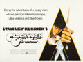 "Movie Posters:Science Fiction, A Clockwork Orange (Warner Brothers, 1971). British Quad (30"" X40""). Philip Castle Artwork.. ..."