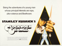 "A Clockwork Orange (Warner Brothers, 1971). British Quad (30"" X 40""). Philip Castle Artwork"