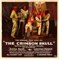 "Movie Posters:Black Films, The Crimson Skull (Norman, 1922). Six Sheet (79"" X 81"").. ..."