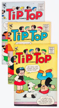 Golden Age (1938-1955):Humor, Tip Top Comics Peanuts Group of 5 (St. John, 1955-56) Condition: Average FN/VF.... (Total: 5 Comic Books)