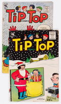 Golden Age (1938-1955):Humor, Tip Top Comics #207 and 210 Double Cover Group (St. John, 1956).... (Total: 2 Comic Books)
