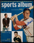 "Autographs:Others, 1950 Stan Musial Signed ""Dell Sports Album"" Magazine. ..."