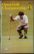 Golf Collectibles:Autographs, 1983 Tom Watson Signed Open Golf Championship Program. ...