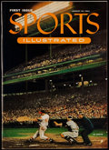"""Baseball Collectibles:Publications, 1954 """"Sports Illustrated"""" Magazine First Issue. ..."""